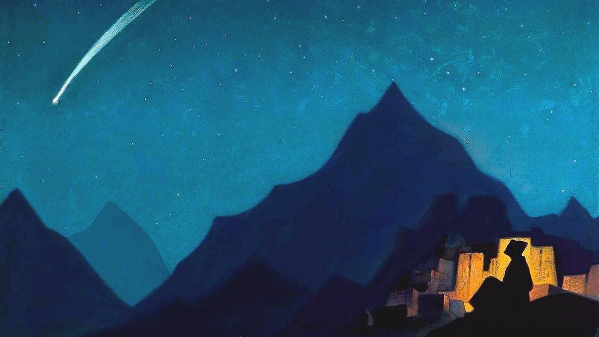Stjärna. Nicholas Roerich, 1936.