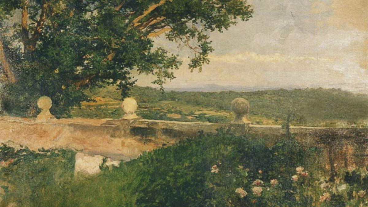 Valencia landscape. Joaquín Sorolla (1894)