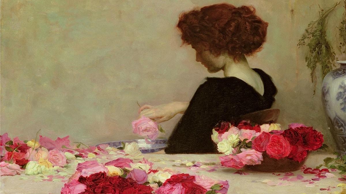 'Potpurri'. Herbert James Draper (1897).