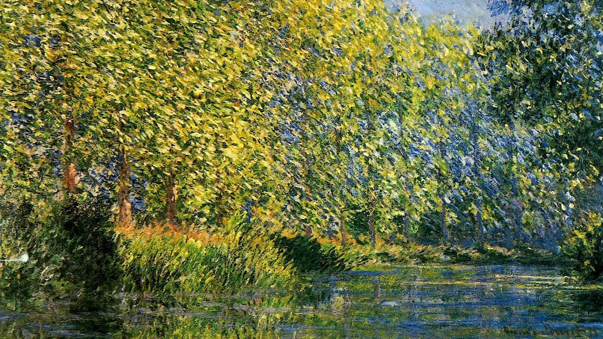 Claude Monet: Floden Epte (1888)