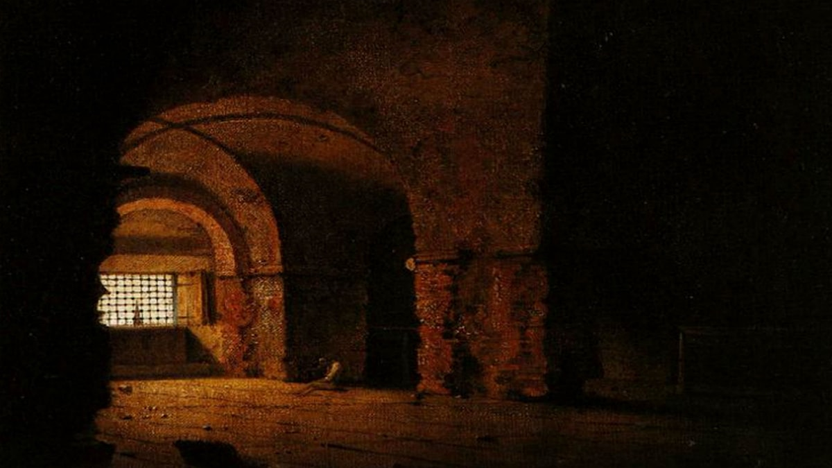 The Prisoner. Joseph Wright (1787-1790).