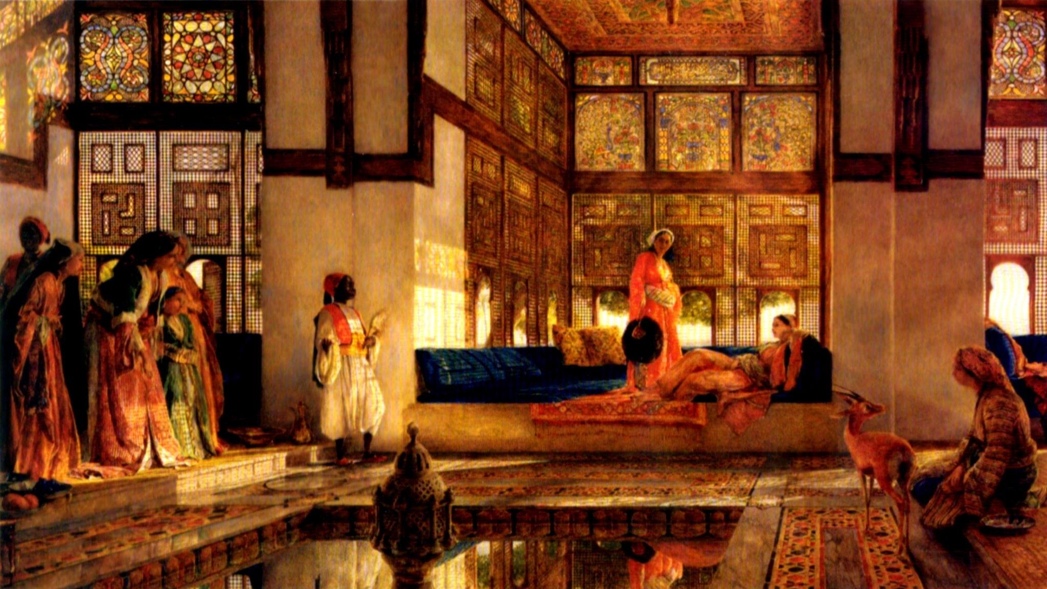 Soliman och hans tre sultaninnor