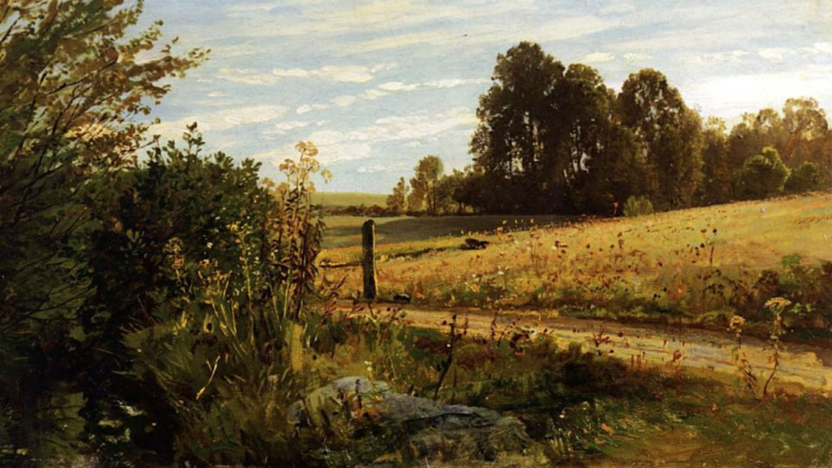 A Country Road. Cornelis Springer (ca. 1886)
