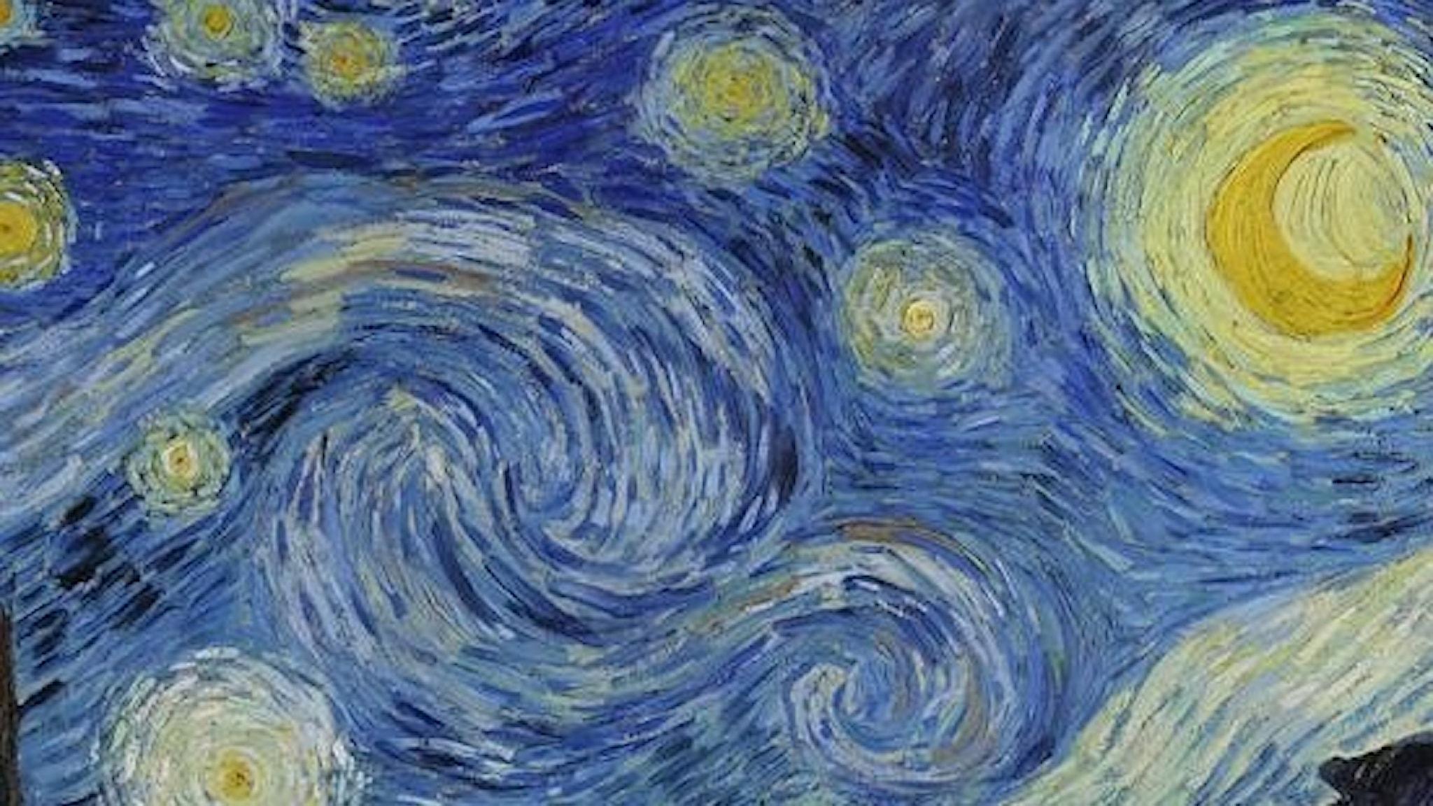 En stjärnklar natt. Vincent van Gogh - 1889