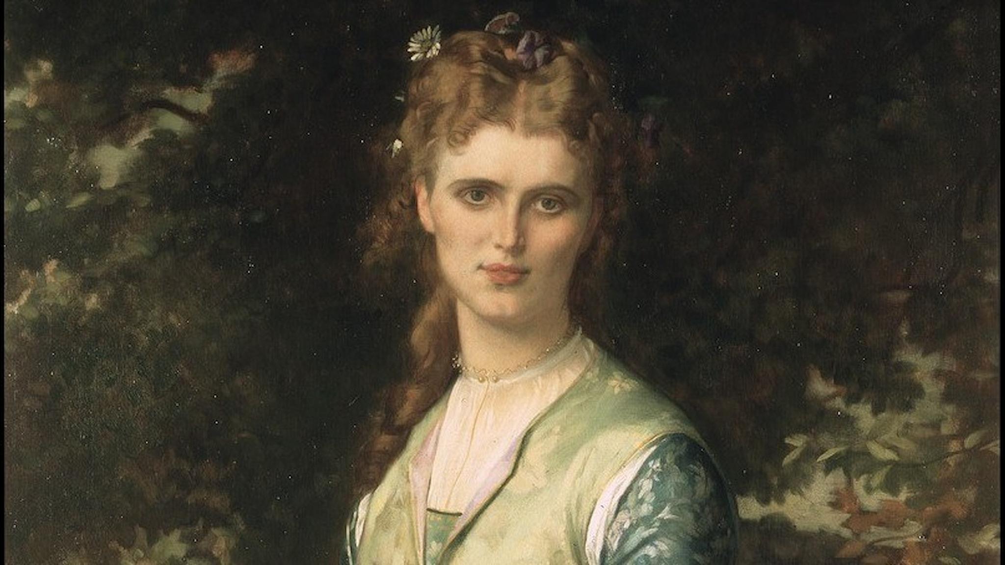 Christina Nilsson som Ofelia. Alexandre Cabanel. 1873