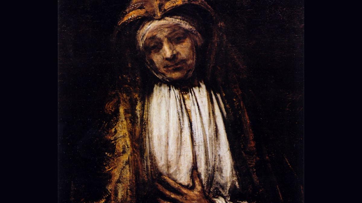 Mater Dolorosa. Rembrandt, 1660