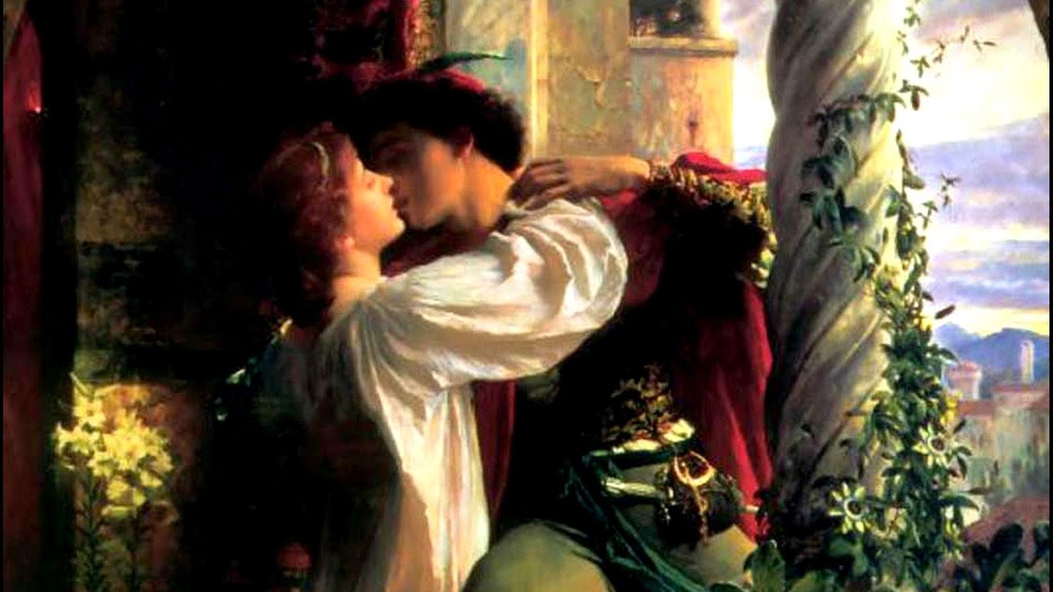 Romeo och Julia. Frank Dicksee,1884