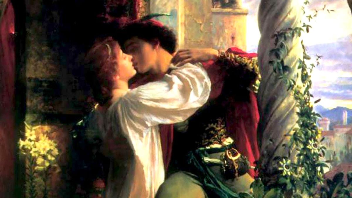 'Romeo och Julia'. Frank Dicksee, 1884