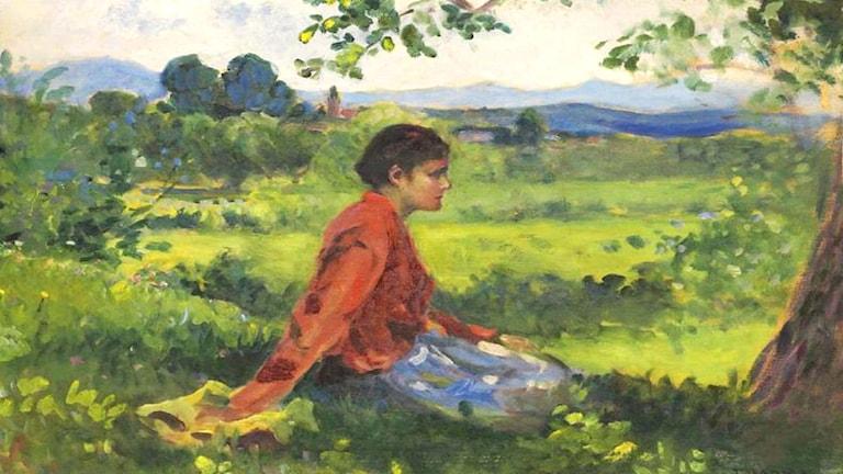 Landskap vid Baia Mare/Nagybánya. János Thorma (1870–1937)