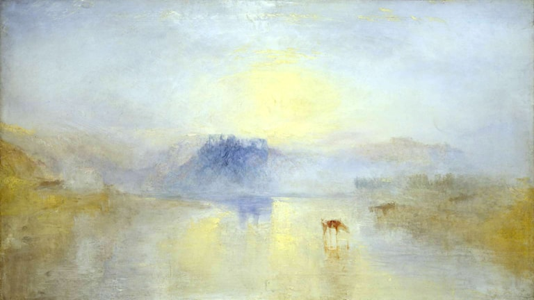 'Soluppgång'. William Turner, 1845
