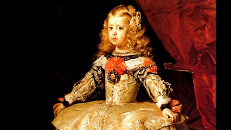 'Retrato de la infanta Margarita'. Diego Velázquez (1599–1660)