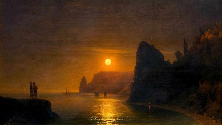 'Månväg'. Ivan Aivazovsky, 1886