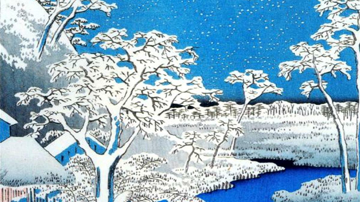 Utagawa Hiroshige, 1858