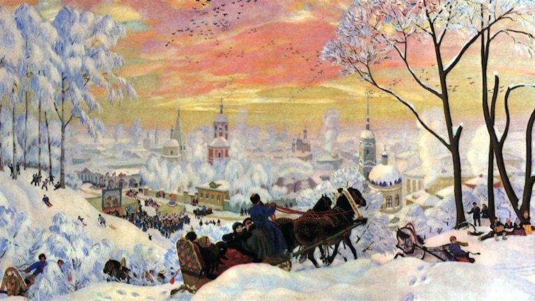 Boris Kustodiev, 1916