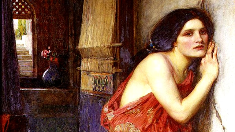 'Thisbe'. John William Waterhouse, 1909