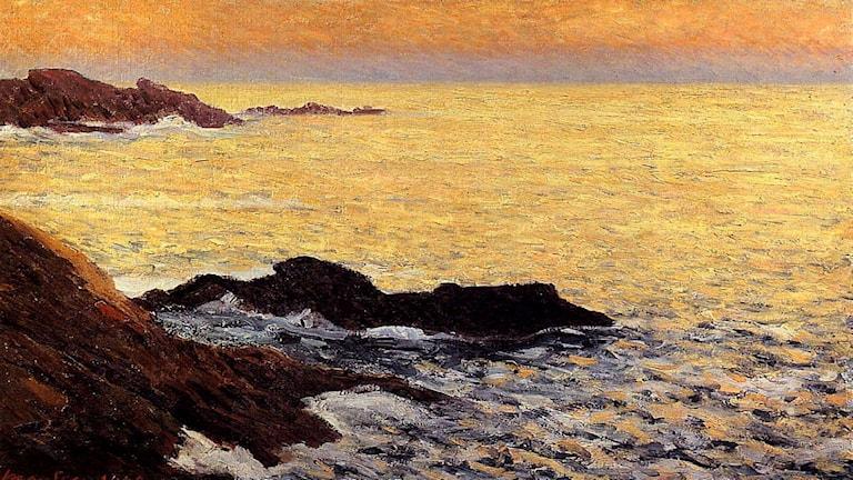 'Det gyllne havet'. Maxime Maufra, 1900