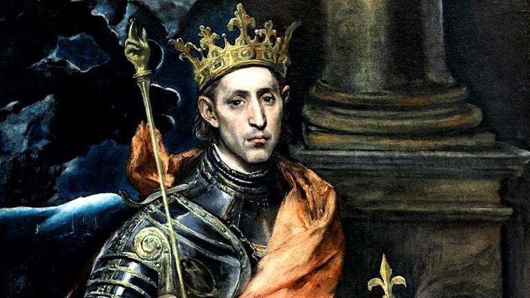 Ludvig den helige, kung av Frankrike, 1226-1270. El Greco (1590-tal)