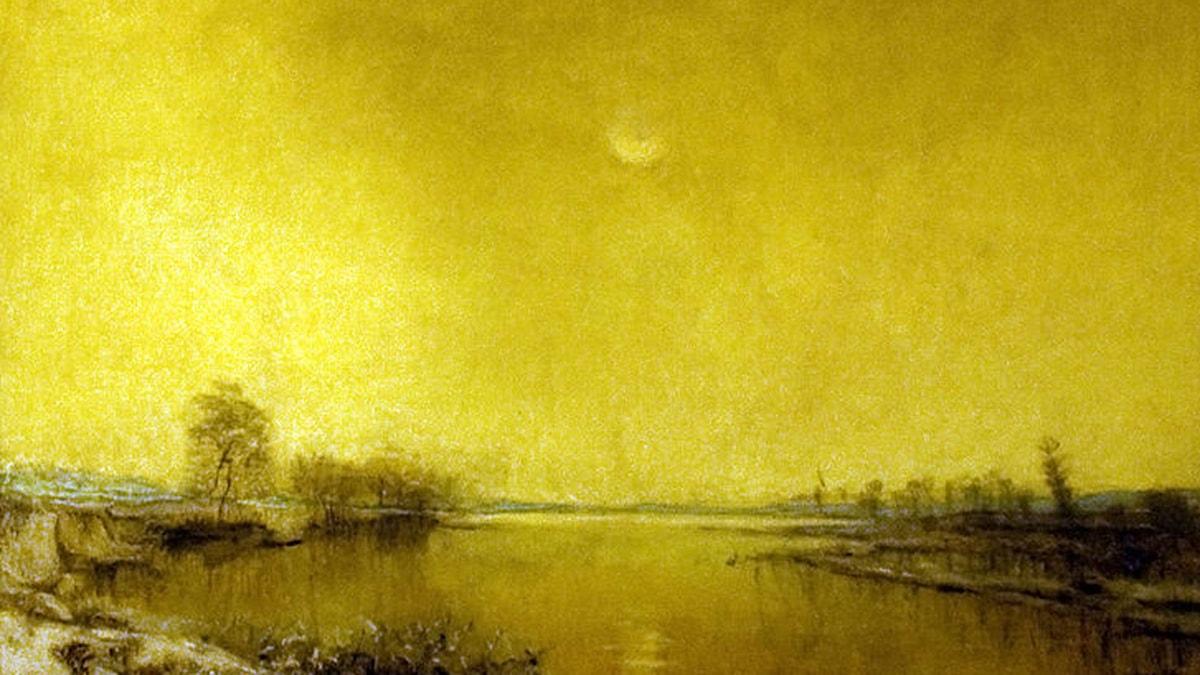 Winter Silence. Via Wikimedia.