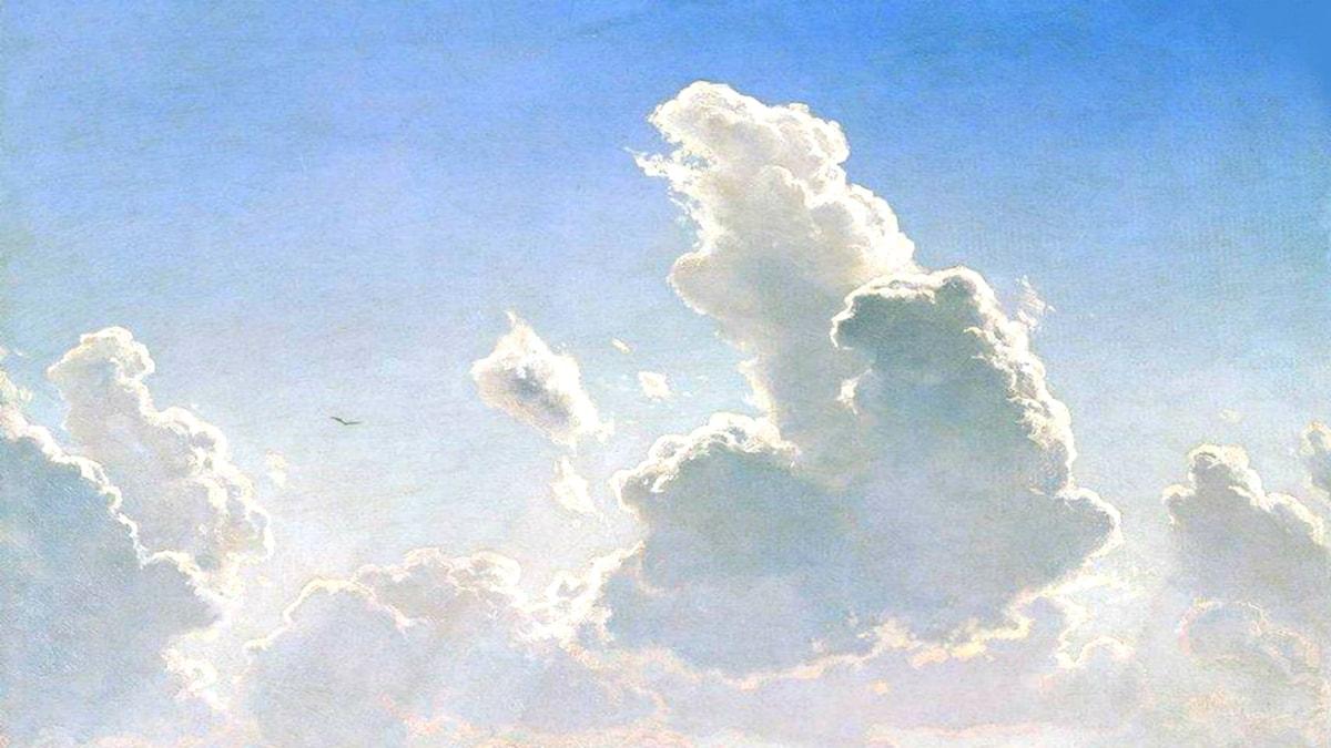 'Noon'. Ivan Shishkin, 1866