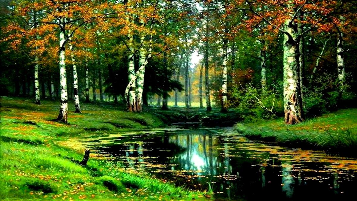 'Stilla flod'. Efim Volkov (1844-1920)