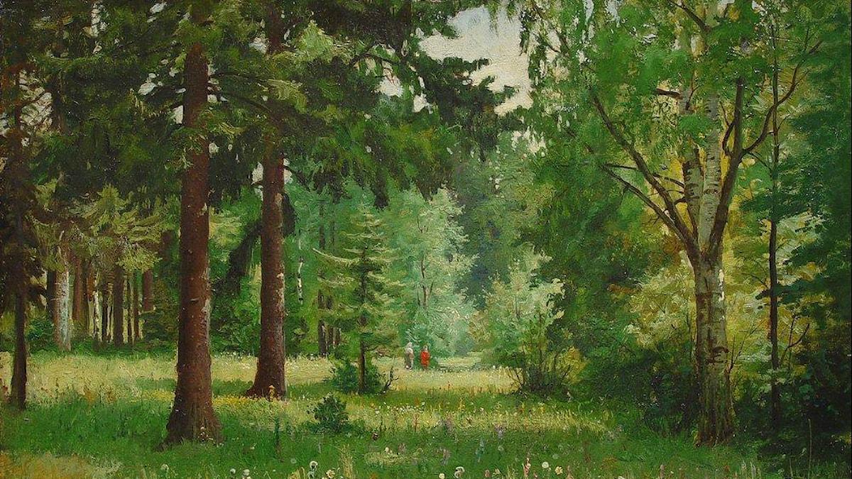 """Children in the forest"", Ivan Shishkin"