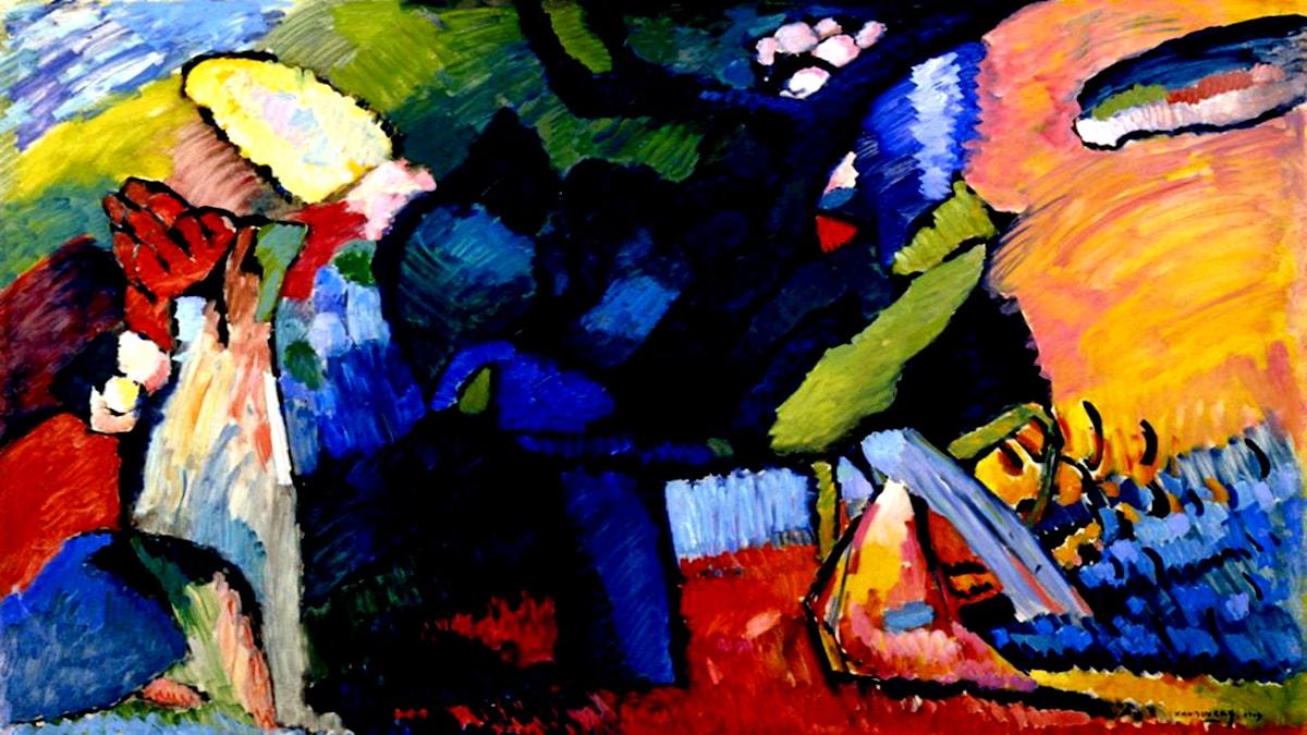 'Improvisation 4'. Wassily Kandinsky, 1909