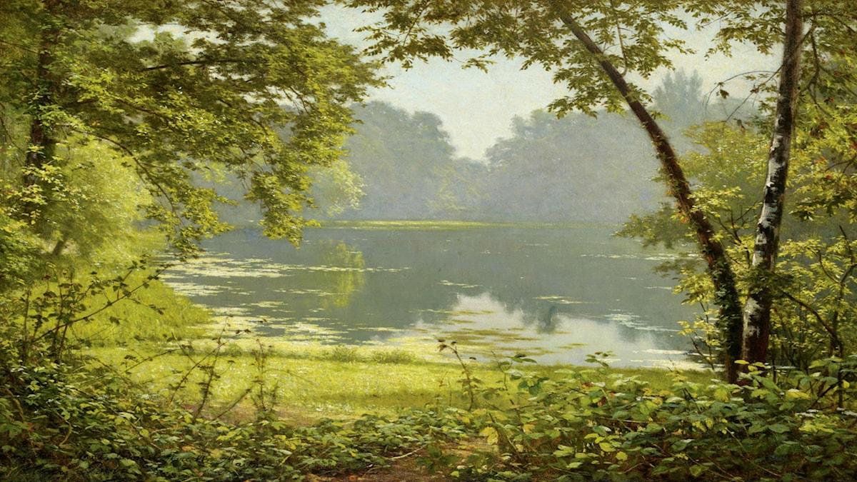 'Stillhet'. Henri Biva (1848–1929)