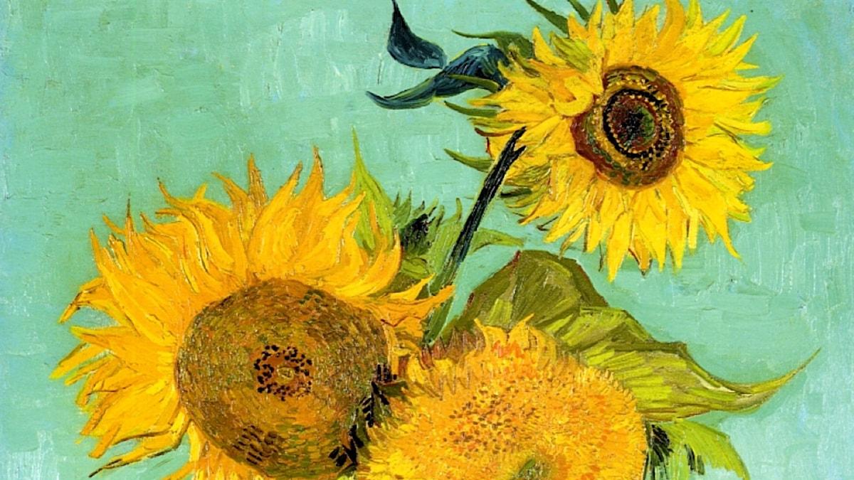 'Solrosor'. Vincent van Gogh, 1888