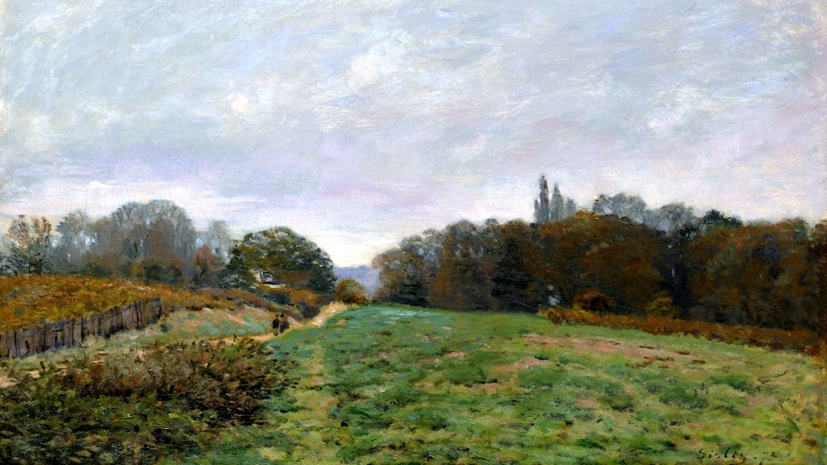 'Louveciennes'. Alfred Sisley, 1873
