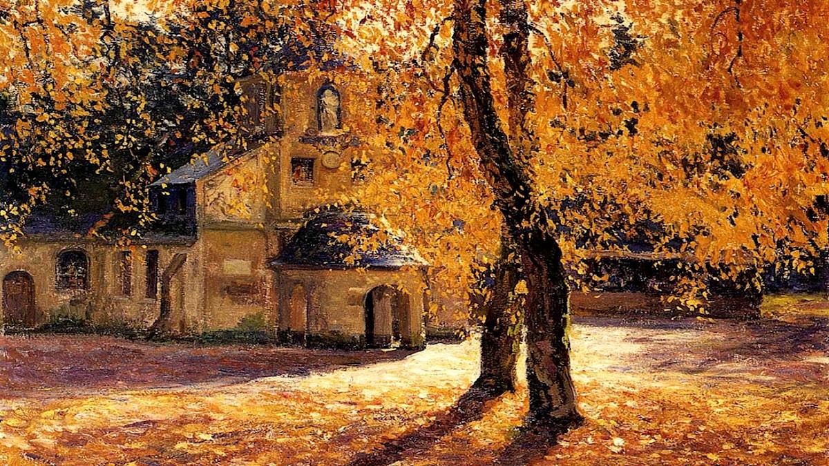 'Notre Dame de Grace, Honfleur'. Guy Rose (1867-1925)