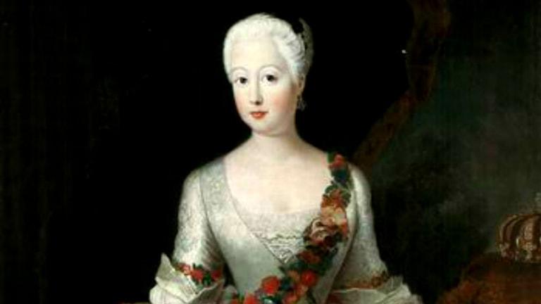 Anna Amalia av Preussen. Okänd konstnär.