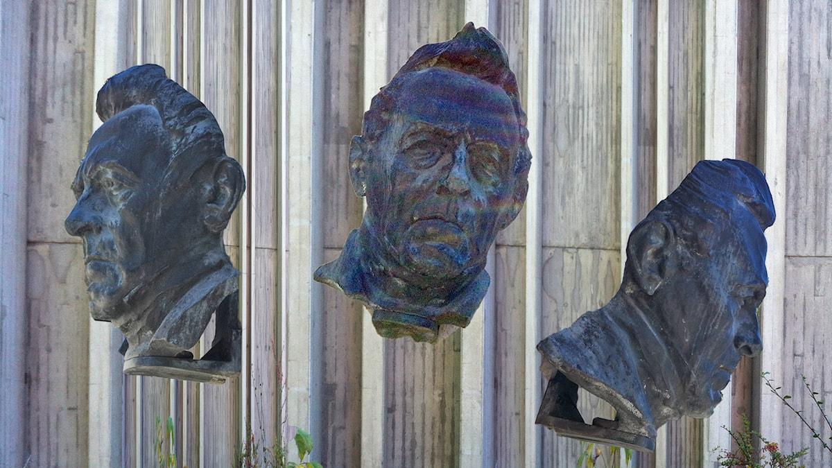 Frasse och hans hall. Skulptur av Carl Eldh. Bild: Sam Jakobsson/SR