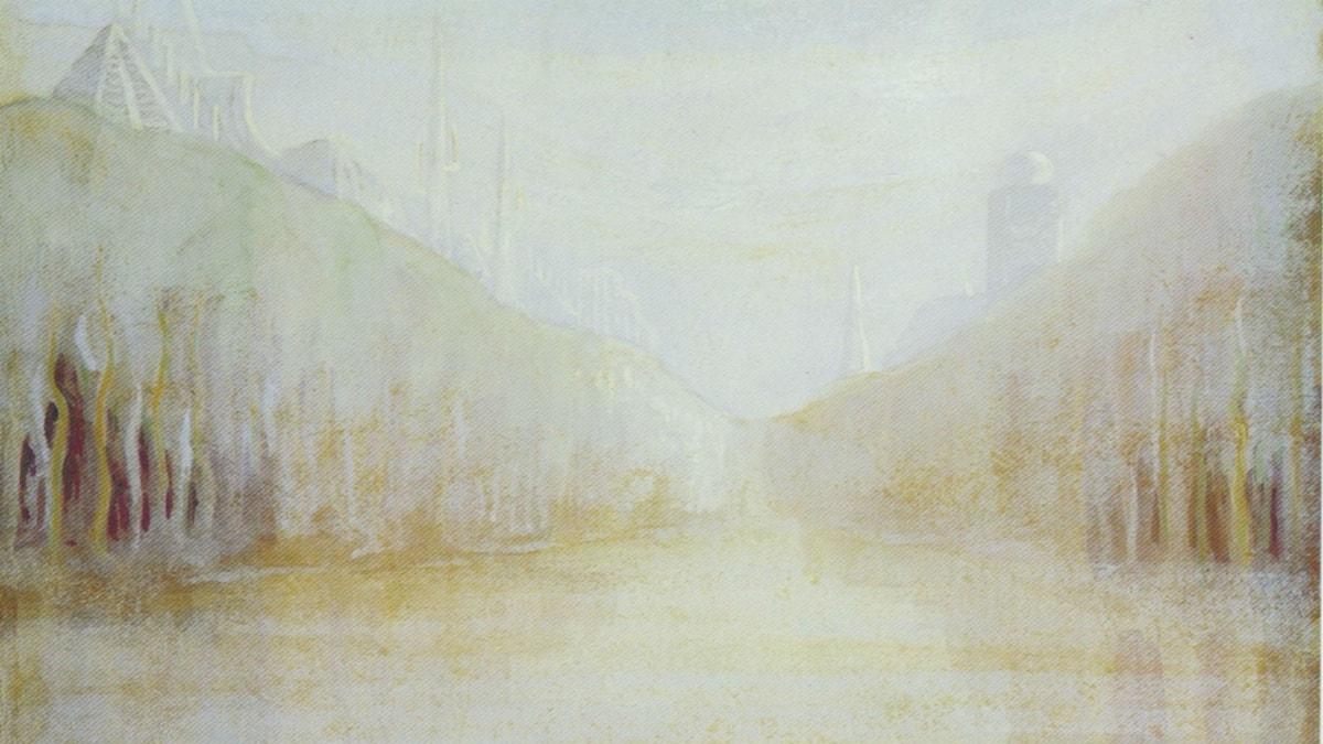 'Gryning'. Mikalojus Ciurlionis, 1906