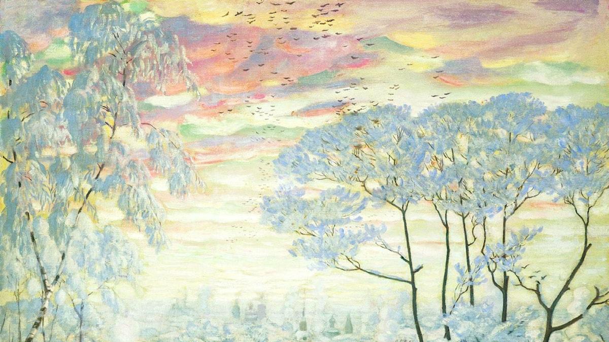 'Vinter'. Boris Kustodiev, 1916