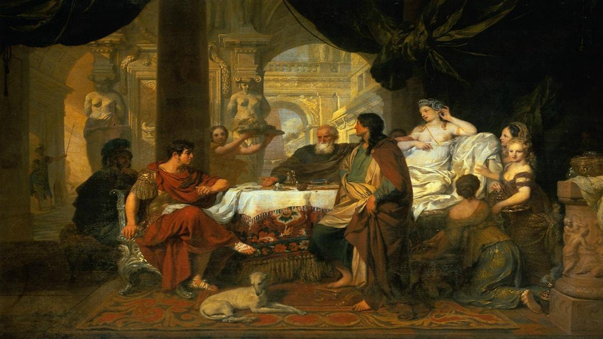 'Cleopatra'. Gérard de Lairesse (ca 1675-1680).