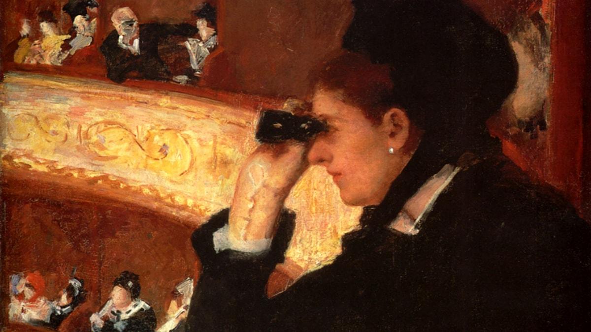 'Operan'. Mary Cassatt, 1878