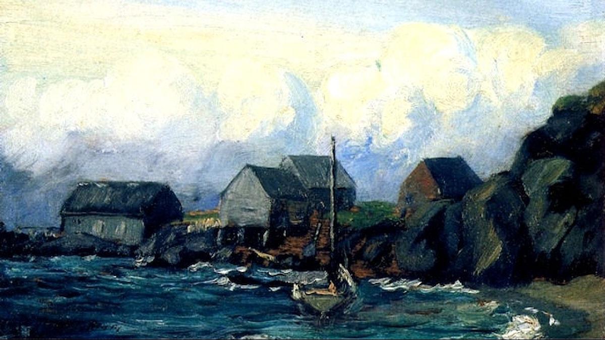 Robert Henri: Stormstudie (1903)