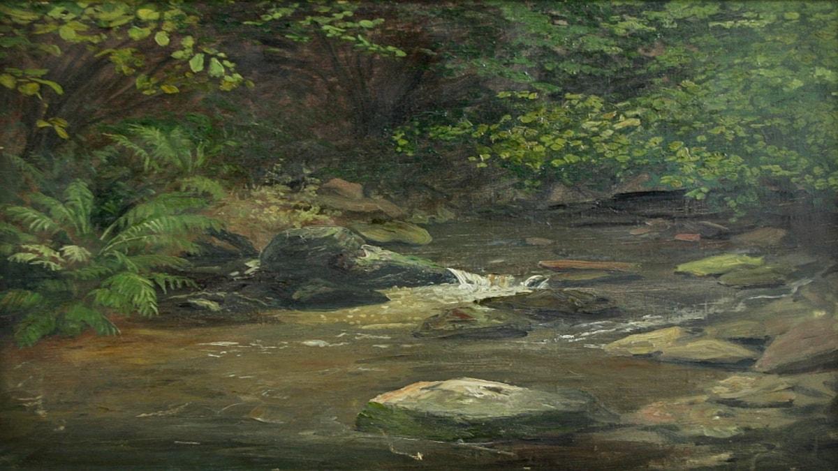 'Ilsebachtal i harts'. Valentin Ruths (1905).