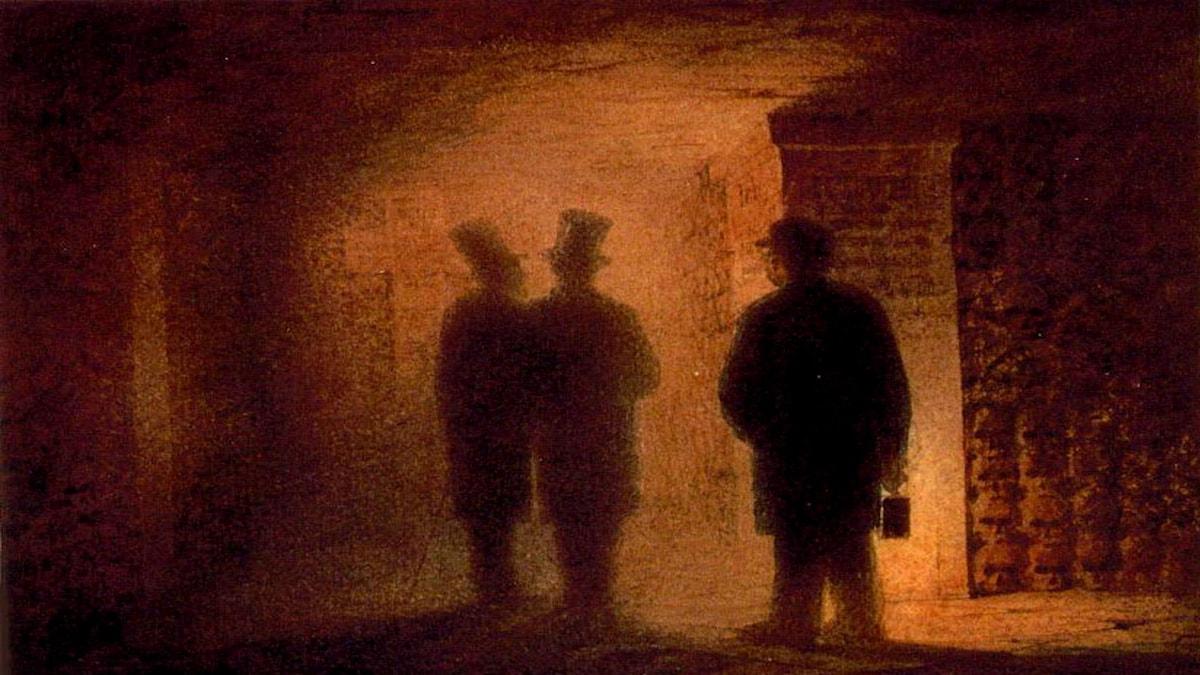 Paris katakomber. Viktor Hartmann (1834–1873)