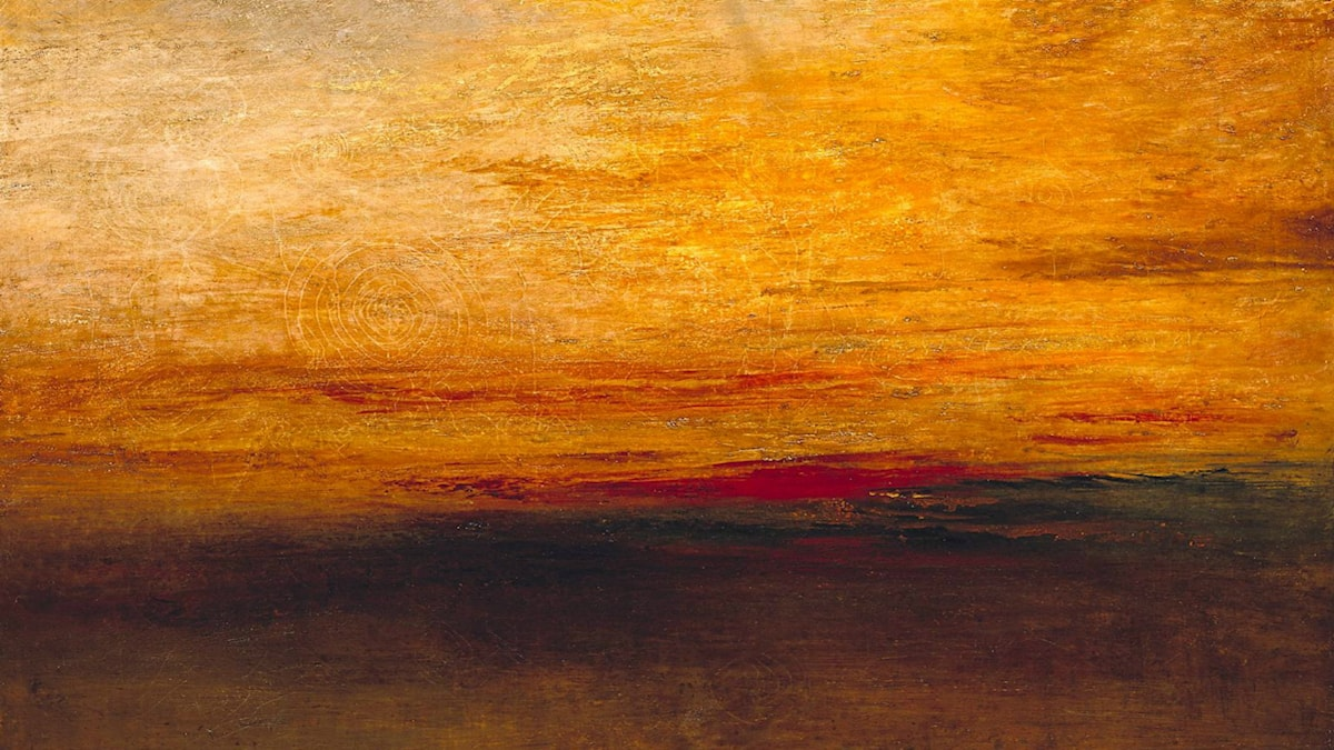 'Sunset'. Joseph Mallord William Turner (1830-35).