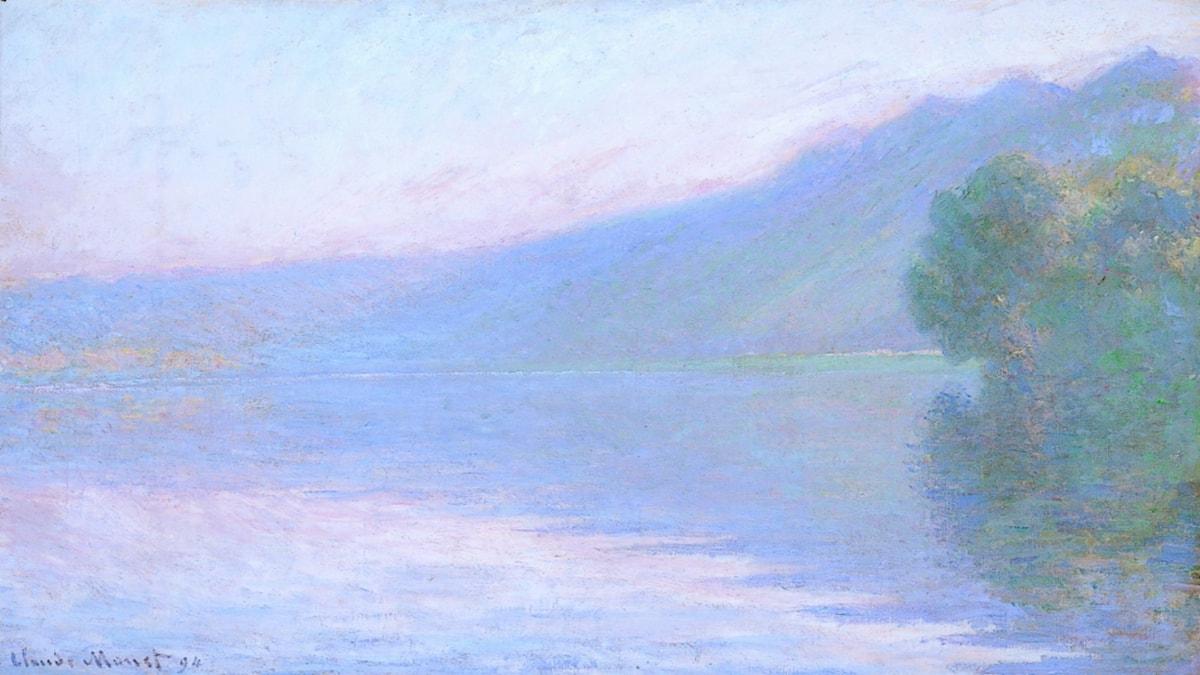 'La Seine à Port-Villez'. Claude Monet (1894).
