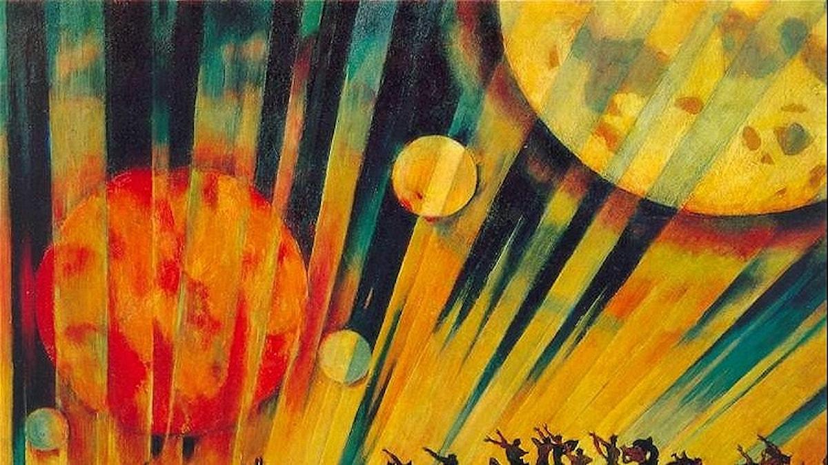 Ny planet. Konstantin Yuon-1921.