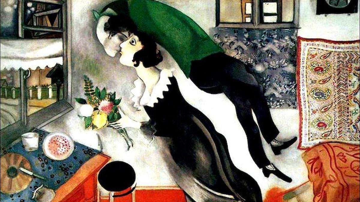 Födelsedagen. Marc Chagall, 1915.