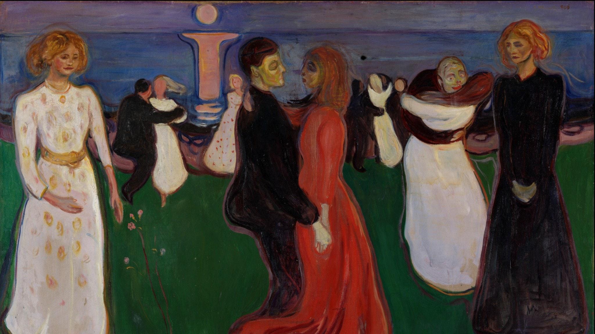 Livets dans. Edvard Munch-1899-1900.