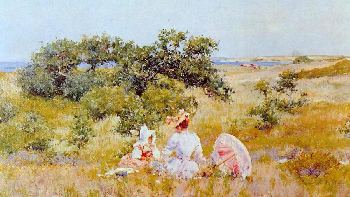The Fairy Tale. William Merritt Chase (1892)