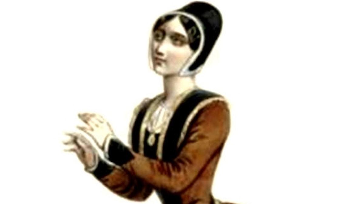 Pauline Viardot som Fidès i originaluppsättningen av Meyerbeers opera Profeten. Parisoperan 1849.