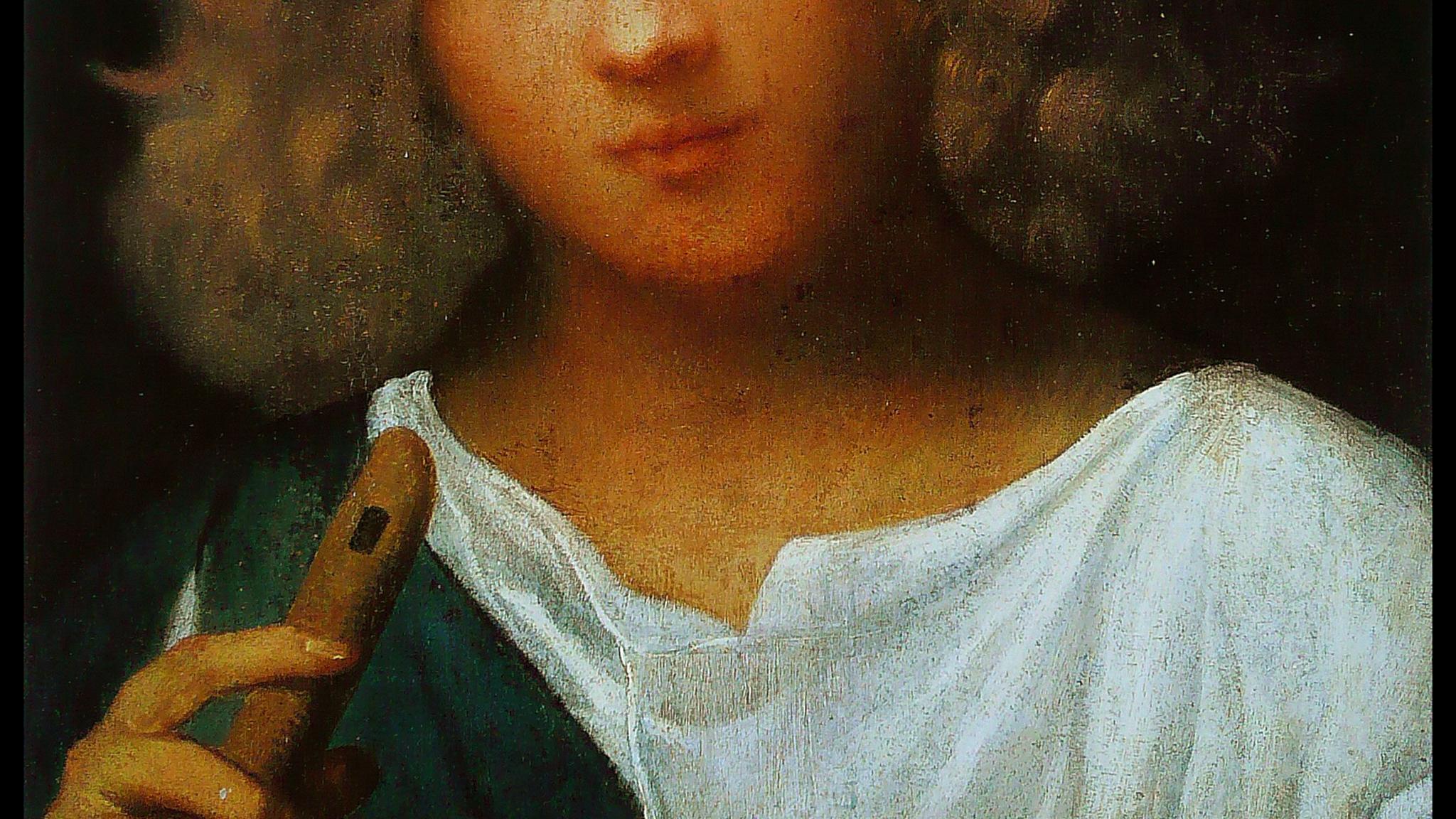 Vem spelar på en pipa en låt av gryningsluft, för himmelsk att begripa, höjd över allt förnuft?