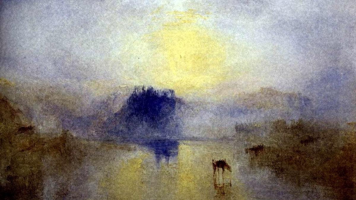 J.M.W Turner: Norhams slott (1845)