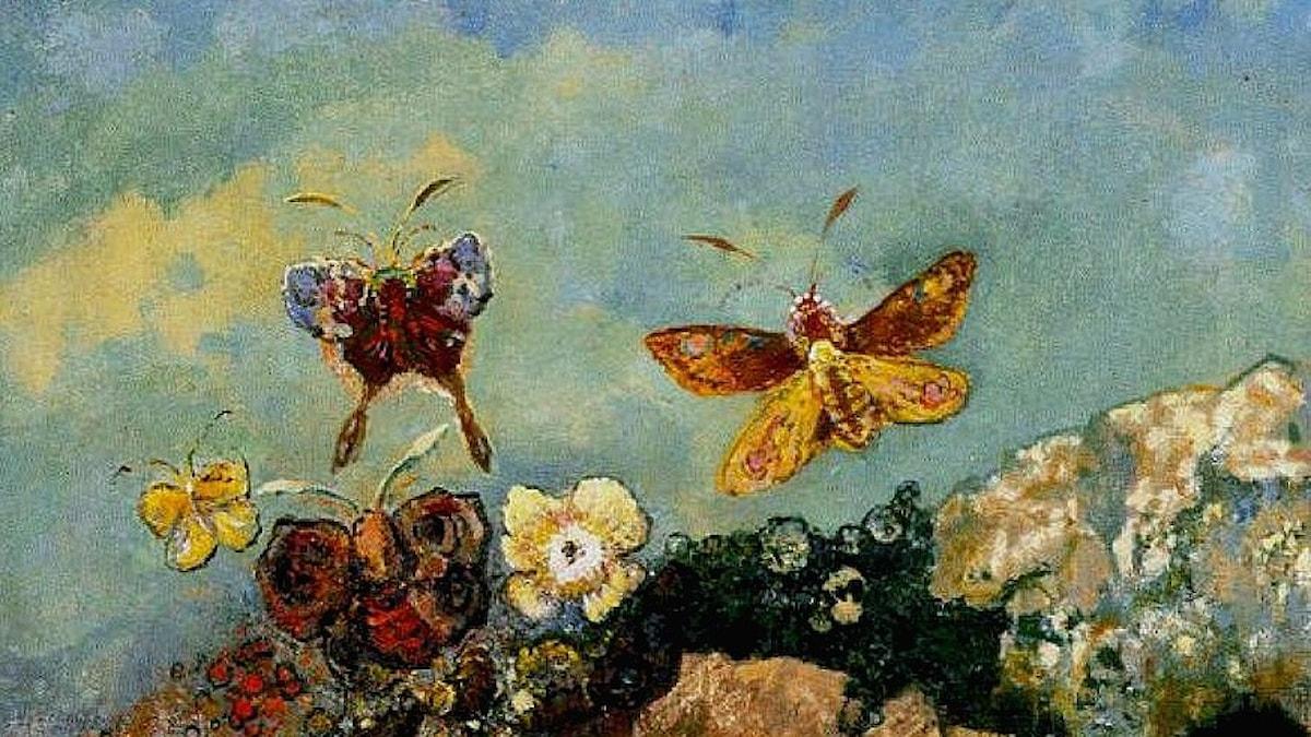 Fjärilar-Odilon Redon
