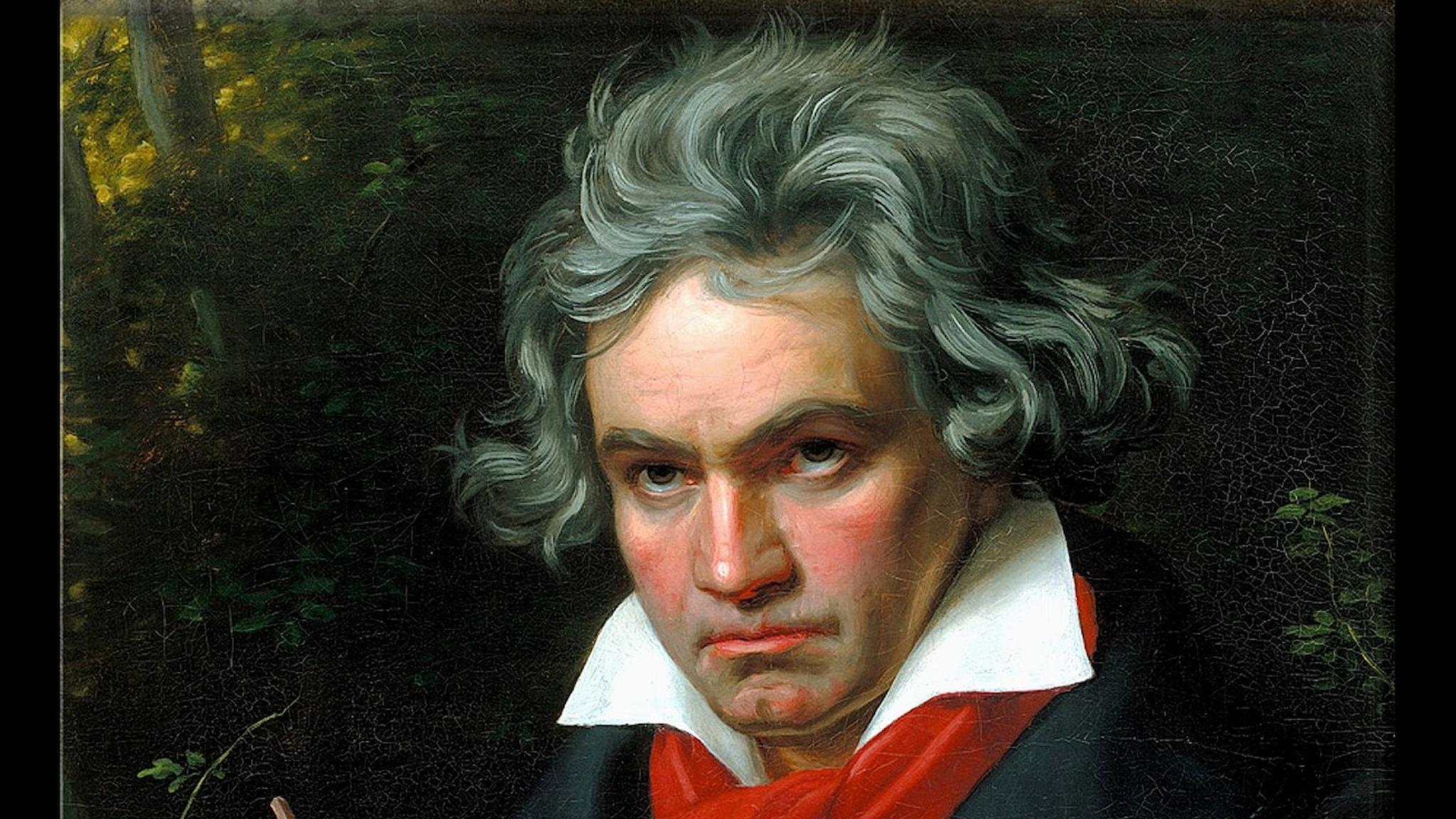 Porträtt av Beethoven (Joseph Karl Stieler, 1820).)